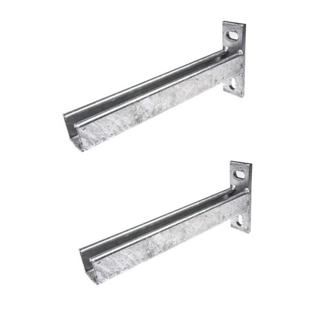 Cantilever Arm Condensing Unit Wall Brackets (pair)